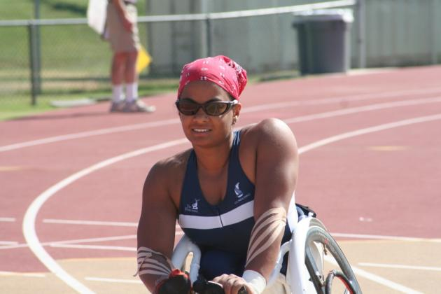 Anjali at US Paralympic Trials