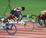 Anjali racing in Beijing